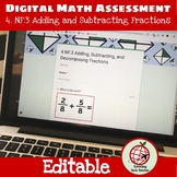 Adding, Subtracting, and Decomposing Fractions: Google Forms Assessment