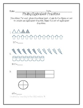 Adding, Subtracting, and Finding Equivalent Fractions with Unlike Denominators