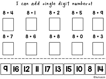 Adding/Subtracting and Multiplying Fluency Packet