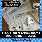 Adding, Subtracting and/or Multiplying Meet and Greet Activity