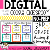 Adding & Subtracting for Google Classroom Distance Learning