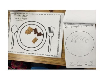 Adding & Subtracting  to 10 Lesson with Teddy Bears! TEKS & Common Core aligned