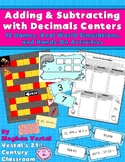 Adding & Subtracting with Decimals Centers
