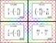 Adding & Subtracting with Improper Fractions 7th Grade Math Task Cards