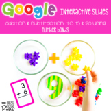 Adding & Subtracting with Number Bonds ~ For Google Drive