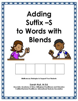 Adding Suffix -S to Words with Blends