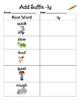 Adding Suffixes