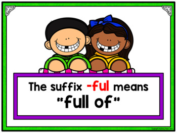 Adding Suffixes Activity for Google Drive and Google Classroom