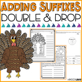 Fall Adding Suffixes with the Double & Drop Rule