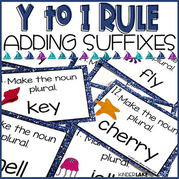 Adding Suffixes y to i rule