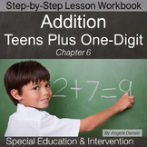Adding Teens Plus One-Digit Numbers | Special Education Math | Intervention