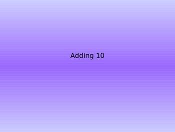 Adding Ten