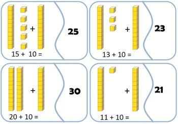 Adding Ten Matching cards