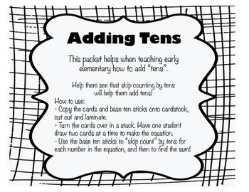 Adding Tens