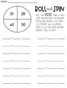 Adding Tens: 2-Digit Addition
