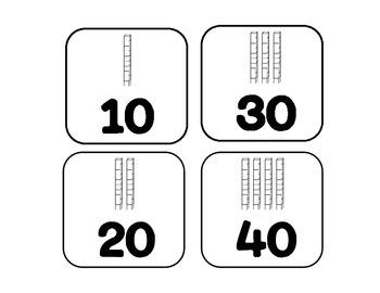 Adding Tens Activity