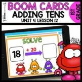 Adding Tens BOOM CARDS | DIGITAL TASK CARDS | Module 4 Lesson 12