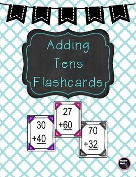 Adding Tens Flashcards
