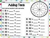 Adding Tens & Ones Spinner