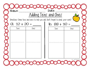 Adding Tens and Ones: Double Digit to a Multiple of Ten