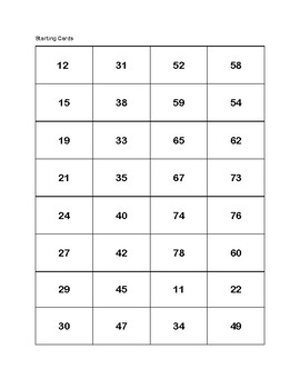 Adding Tens and Ones on a Hundreds Chart