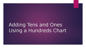 Adding Tens and Ones on a Hundreds Chart Number Talk