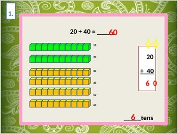 Adding Tens for Visual Learners