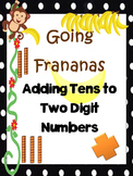 Adding Tens to Two Digit Numbers Scoot/Task Cards