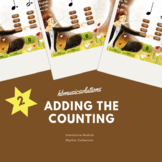 Adding The Counting To A Rhythm (Part 2) Music Interactive Activity