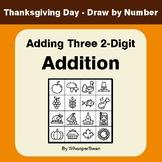 Thanksgiving Math: Adding Three 2-Digit Addition - Math &