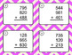 Adding Three 3-Digit Addition Task Cards