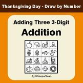 Thanksgiving Math: Adding Three 3-Digit Addition - Math &