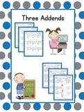Adding Three Addends
