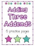Adding Three Addends