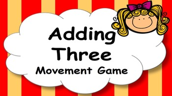Adding Three Addition Facts Mental Maths Game, Brain Break or Maths Warm Up