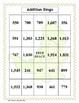 Adding Three-Digit Numbers Bingo (30 pre-made cards!)