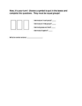 Adding Three Equal Groups - Getting Ready for Multiplication!