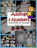 1.OA.2 Three Addends 8 Activities