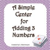 Adding Three Numbers Center
