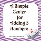 Adding Three Numbers Center