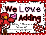 Adding Three Numbers-Differentiated Math Center
