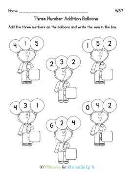 Adding Three Numbers for Beginners