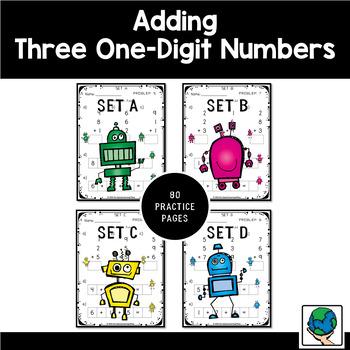 Adding Three One-Digit Numbers