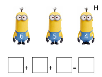 Adding Three Single Digit Numbers