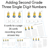 Adding Three Single Digit Numbers