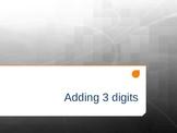 Adding Three Single Digits Interactive PowerPoint 2.NBT.7