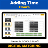 Adding Time (Hours) - Google Slides - Distance Learning -