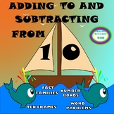 Math Stations/Centers-Adding To and Subtracting From 10 & Above