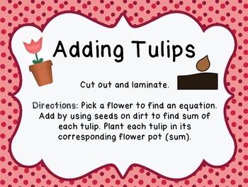Adding Tulips!