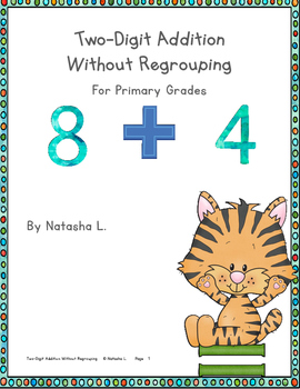 Adding Two-Digit Numbers (No Regrouping)